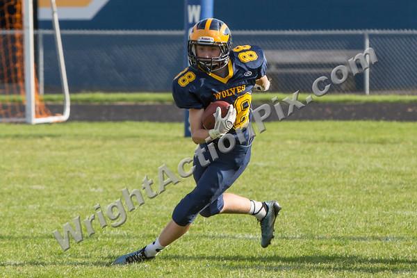 2014 09 18 Clarkston Freshman Football vs Stoney Creek