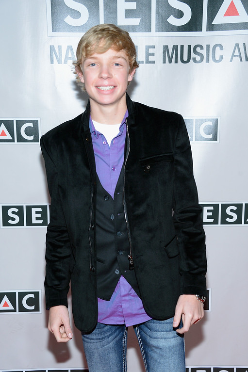 . Singer/songwriter Easton Hamlin attends the 2013 SESAC Nashville awards at the Country Music Hall of Fame and Museum on November 3, 2013 in Nashville, Tennessee.  (Photo by Michael Loccisano/Getty Images)