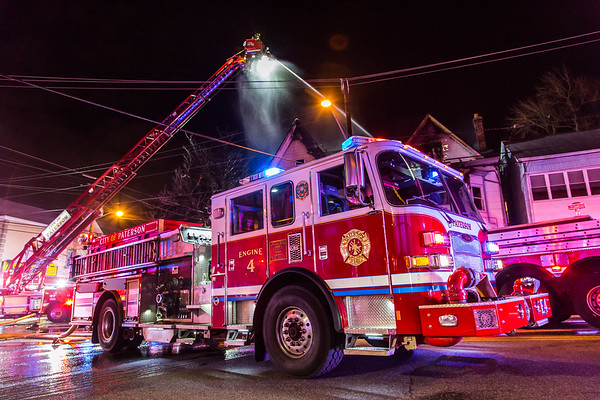 Paterson NJ 4th Alarm, 1005 & 1007 Madison Ave. 01-16-19