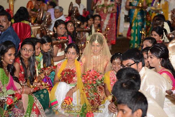Pooja Sri Kirishnathasan Puberty Ceremony ( July 6, 2014)