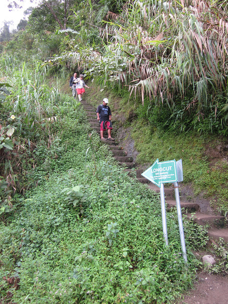 Descending toward Batad