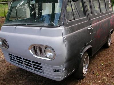 Steve's 66 Econoline Window Van Before Restoration