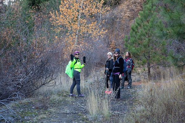 2019-11-17 Hiking on White Pass: Bear Canyon