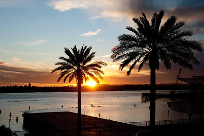 2011 11 29 Sunrise and Sunset Californai and Mexico