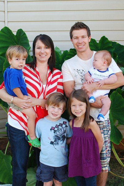 Helms Family~September  2010