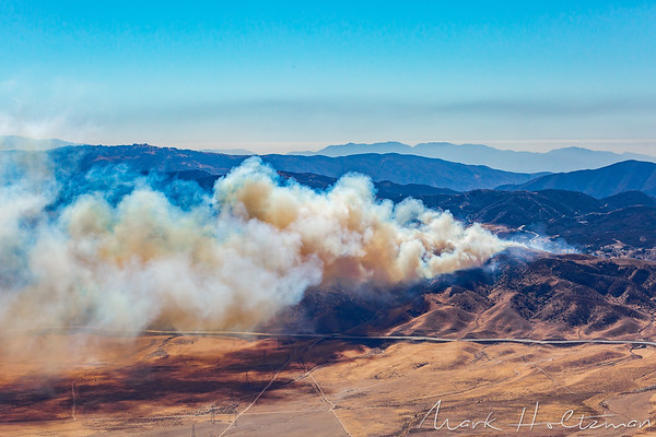 Elizabeth Lake Wildfire - Johnson Fire