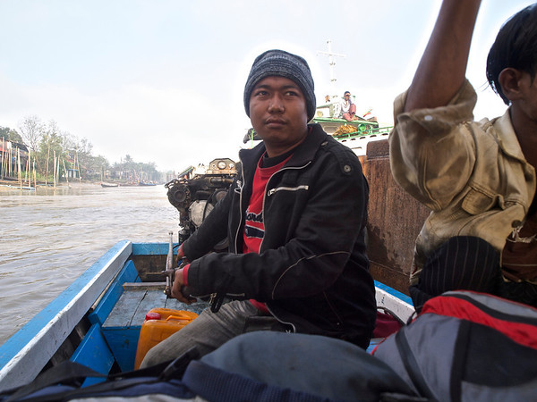 Fastboat to Hpa-An, Myanmar & first day there