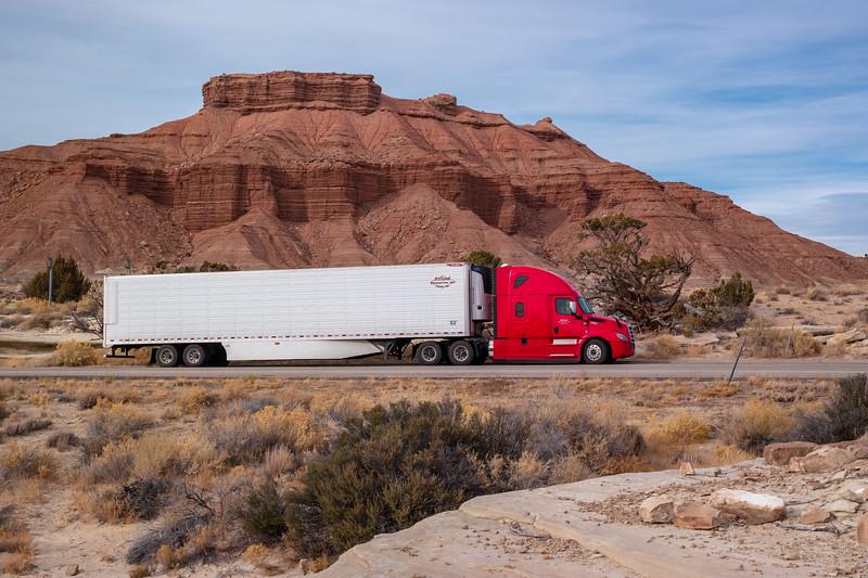 Sand Bench Utah Truck
