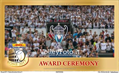 Award Ceremony #CLF4Rome