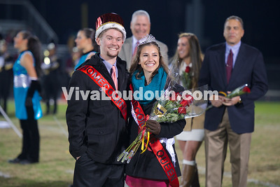 Band & Homecoming Court - 10.31.14 (Scudder)