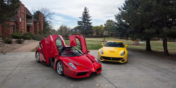 Ferrari Enzo & F12