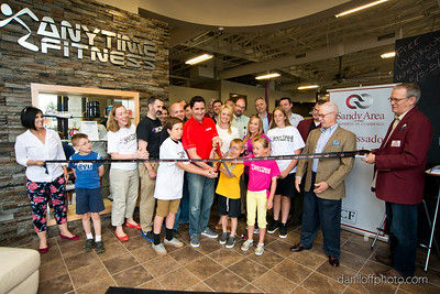 Anytime Fitness - Ribbon Cutting Ceremony - Sandy Area Chamber of Commerce