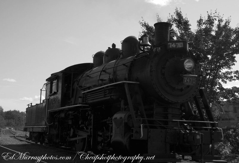 Old 7470: The North Conway's 90 year old steam locomotive
