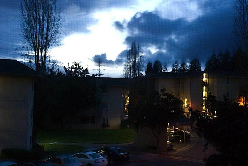 My apartment complex at dawn
