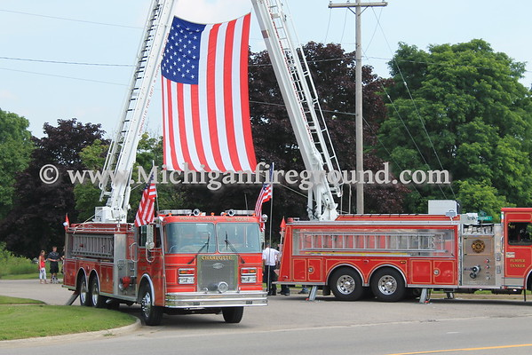 7/11/15 - Charlotte - U.S. Army Specialist Wyatt Martin funeral procession