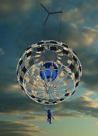 2000 mirrorball
