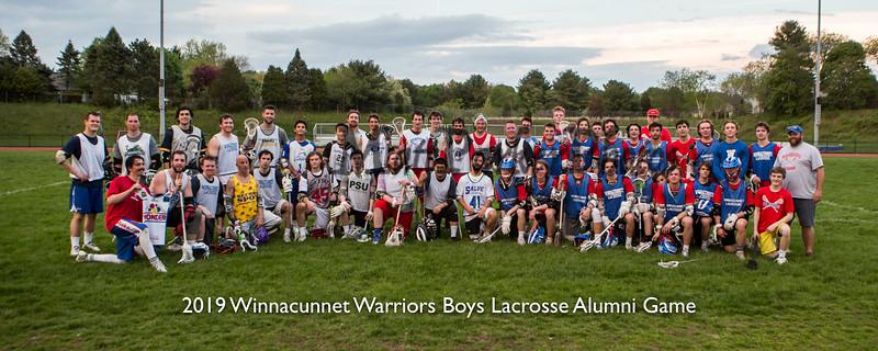 2019-5-20 WHS Boys Lacrosse vs WHS Alumni