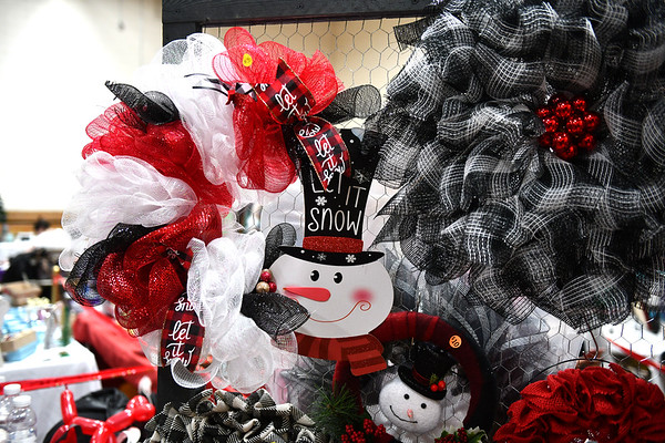 12/7/2019 Mike Orazzi | StaffrCrafts for sale during the YWCA of New Britain Winter Wonderland on Saturday in New Britain.