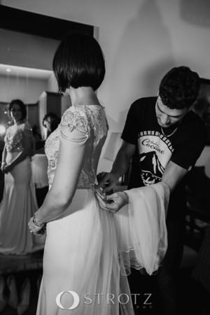 Alon Livne with Real Bride