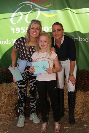 Britt Dekker bij Hippisch Verband 21-09-2019