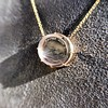 'I Will Return' Glass Oval Pendant, by Seal & Scribe 27