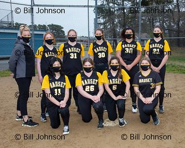 Nauset JV Softball Team and Roster