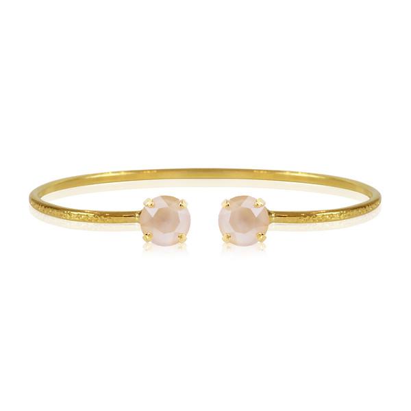 Petite Stud Bracelet / Ivory Cream Gold