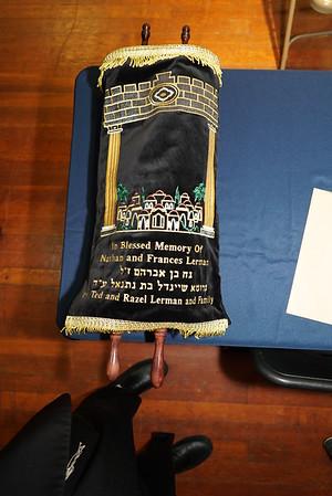 South Bend Hebrew School Hachnossos Sefer Torah-June 2, 2019