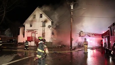 2 Alarm Structure Fire - 4th and Liberty, Ansonia, CT - 3/10/17