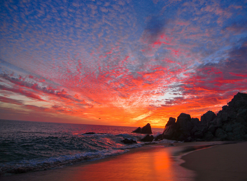 Sunset at Cabo San Lucas