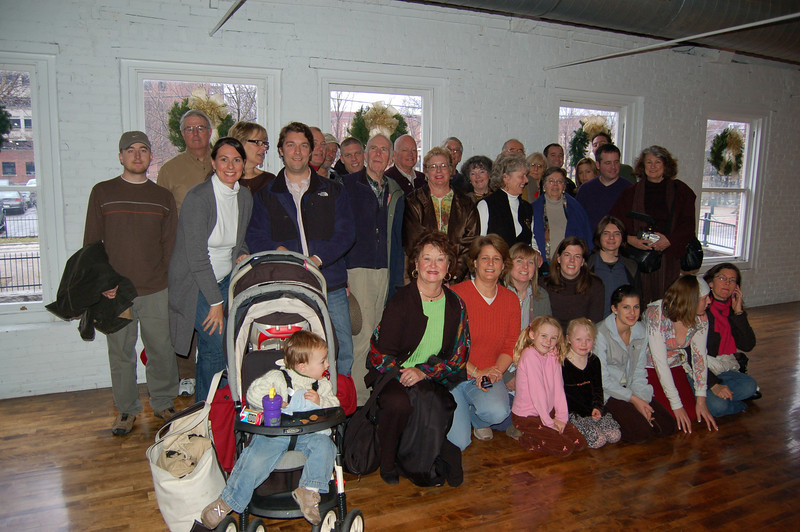 Group photo at Boot Mill