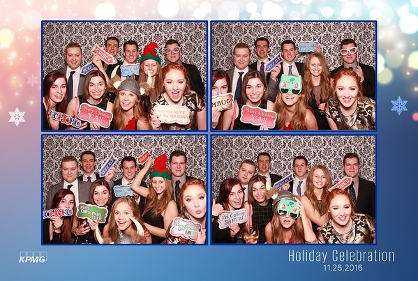KPMG Calgary Holiday Party 2016 - Booth 1