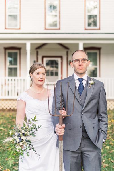 Dana and Hadyn's Wedding at Strock Enterprises