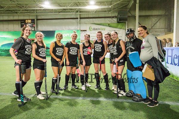 2020-3-8 U19 Girls Field Hockey SNH vs Trained