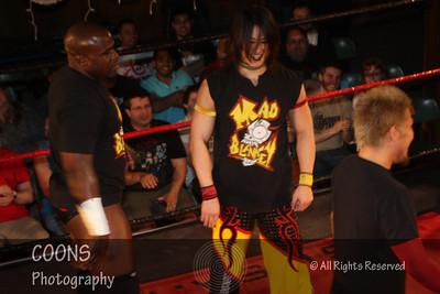 DGUSA 3/29/12 - The Scene with Larry Dallas & Amber O'Neal vs CIMA & Masaaki Mochizuki