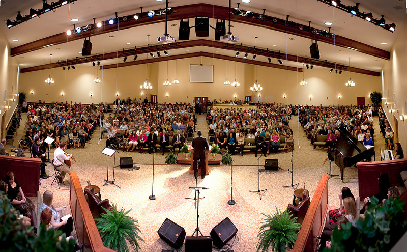 DUNNS CREEK BAPTIST OPENING OF ITS NEW SANCTUARY