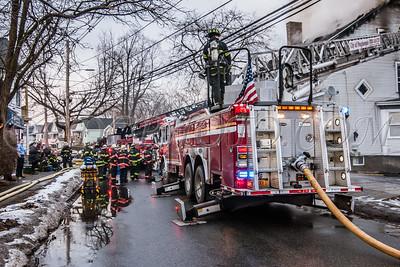 City of Poughkeepsie Fire, Winnekee Ave 5 February 2019