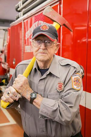 Volunteer Firefighter Packy Fair To Retire 01-16-14
