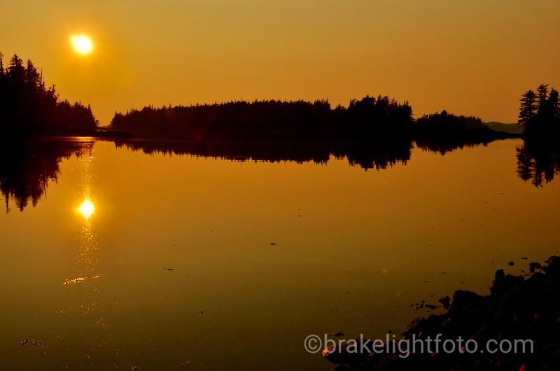 Higgins Passage Sunset