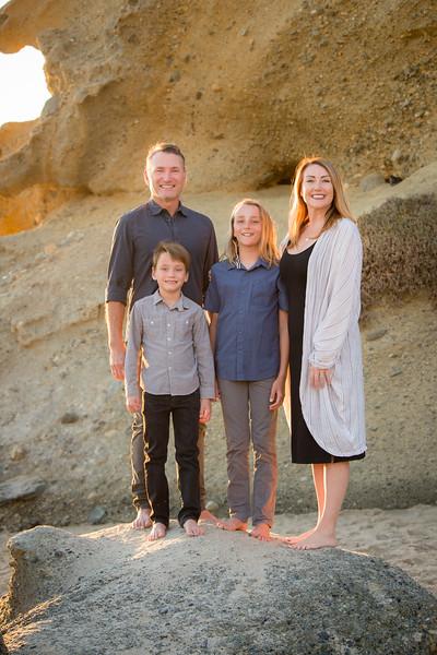 2020 Sweet Beach Family Photo Shoot