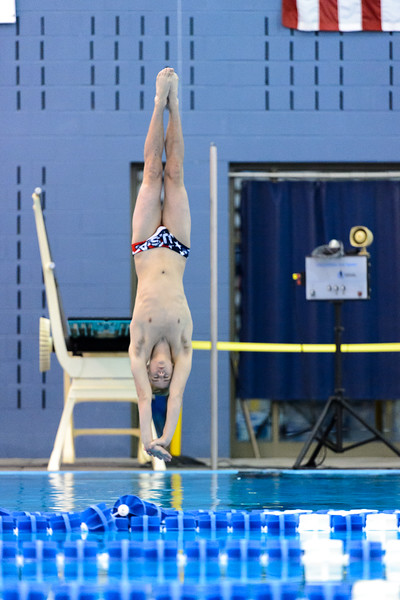 5A State Meet - Diving Semi Finals