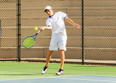 2020-03-14 Dixie HS Tennis vs Lehi