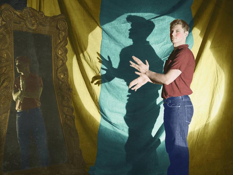 ". Evan Peters as Jimmy Darling in FX\'s \""American Horror Story.\"" (Photo by Frank Ockenfels/FX)"