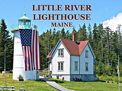 Little River Lighthouse, Maine