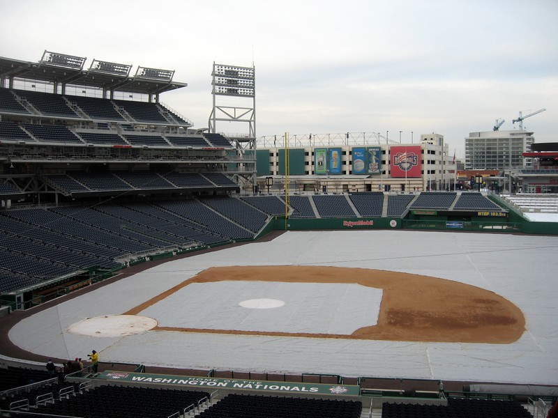 Winter view from Craig's club seats in Section 219