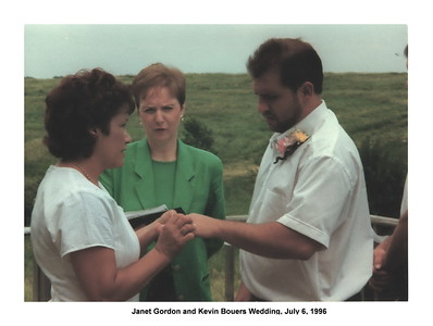 Janet Gordon and Kevin Bouers Wedding