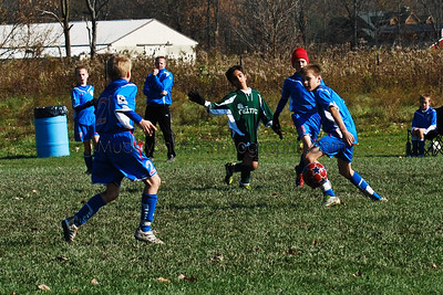 11 Boys Toledo Celtics vs Internationals Red