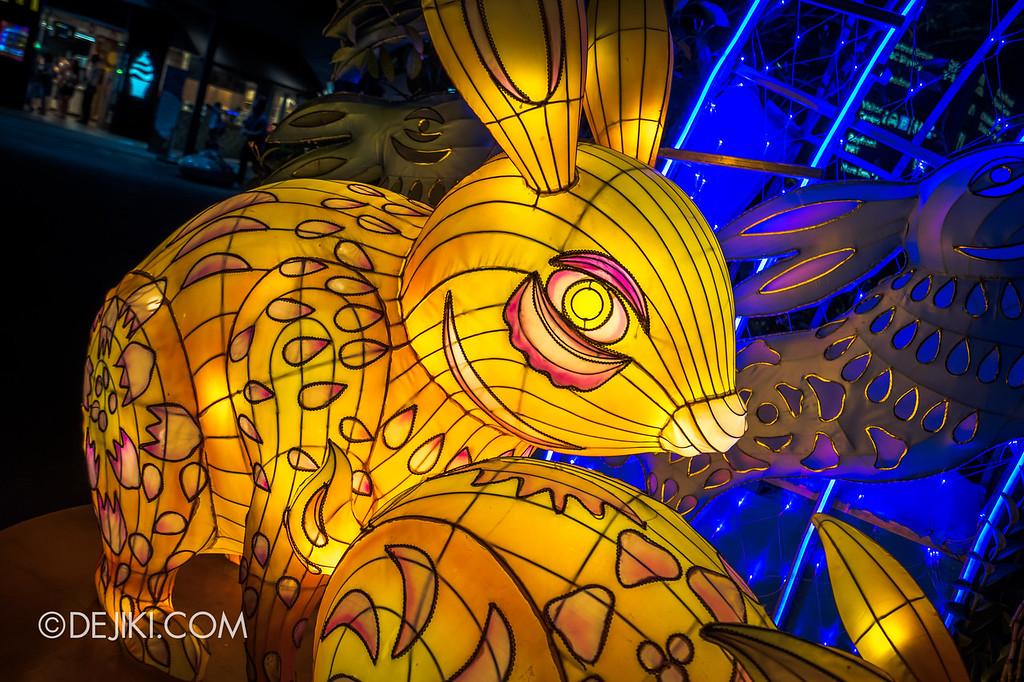 Mid-Autumn at Gardens by the Bay - Giant Lantern Display / Rabbit Lanterns 2