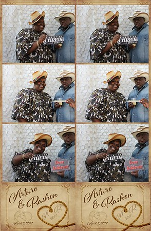Art and Rashon's Wedding -Photo Booth Pictures