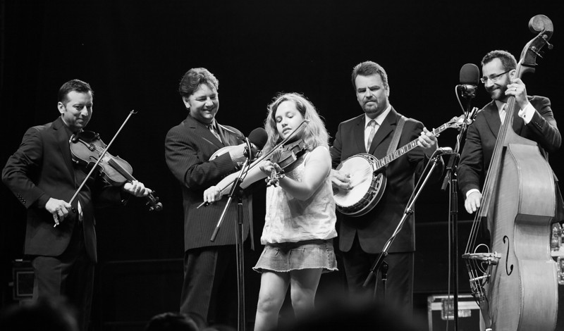The Del McCoury Band (with Hannah Livingston)